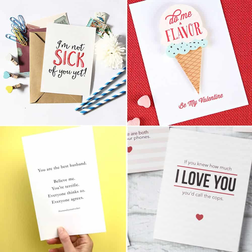 Free Printable Valentine's Day Cards - Free Printable Valentines Day Cards For Her
