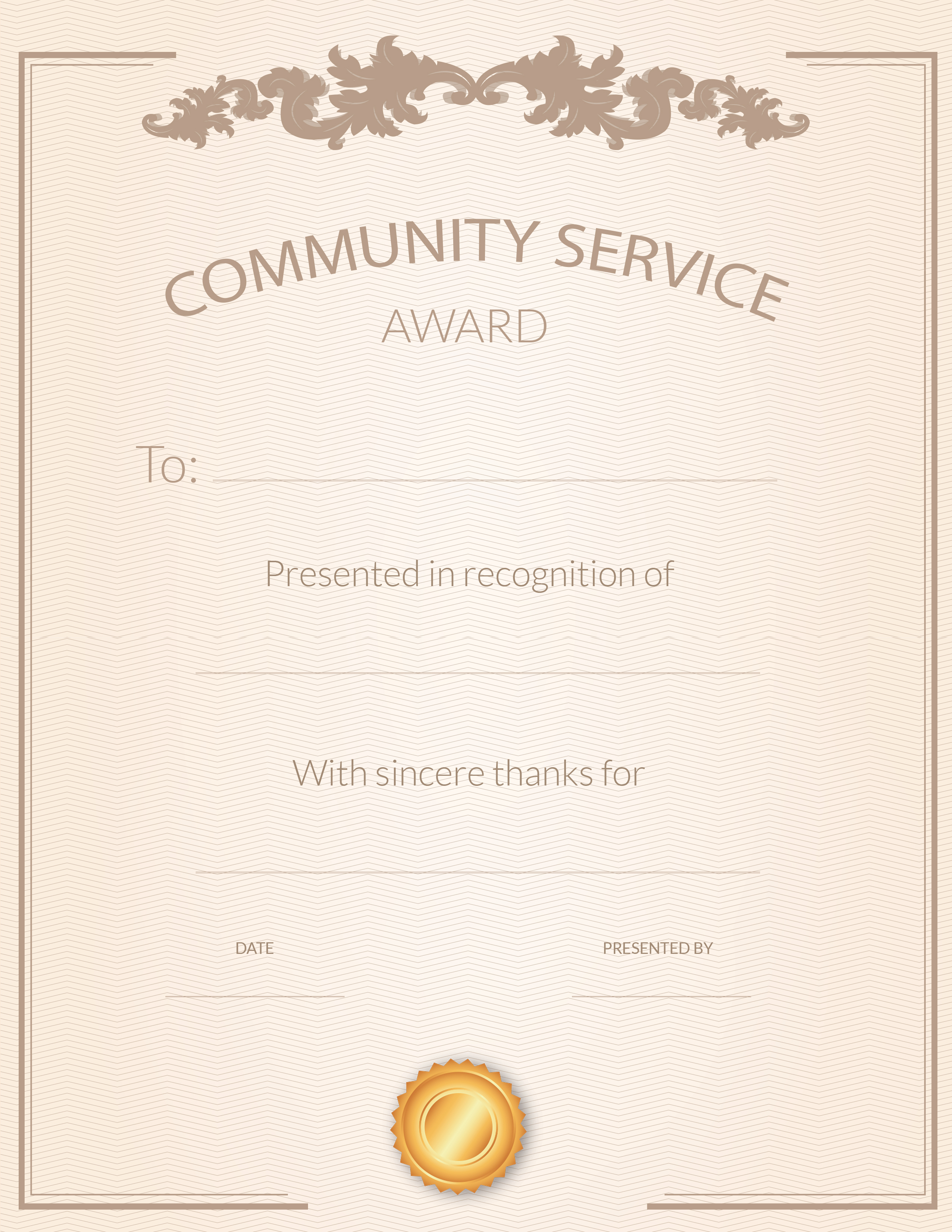 Free Printable Volunteer Appreciation Certificates | Signup - Free Printable Volunteer Certificates Of Appreciation