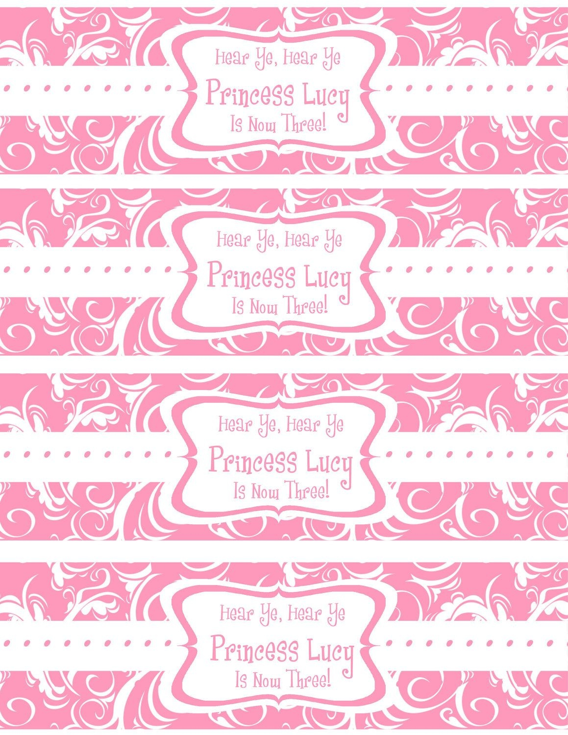 Free Printable Water Bottle Labels Template | Kreatief | Printable - Free Printable Paris Water Bottle Labels