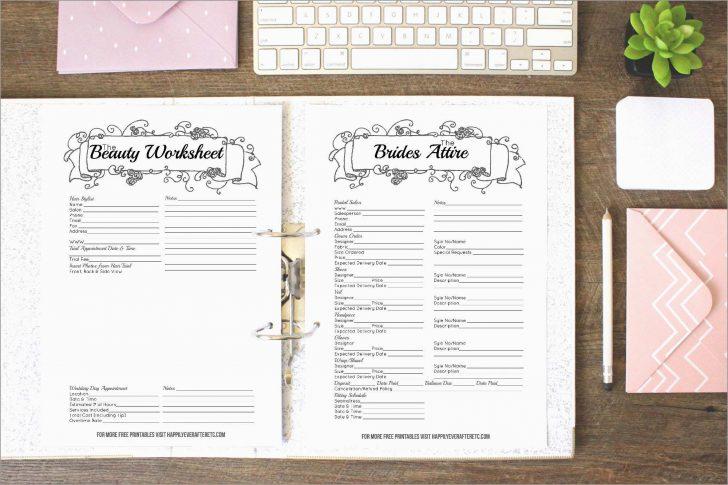 Free Printable Wedding Organizer Templates