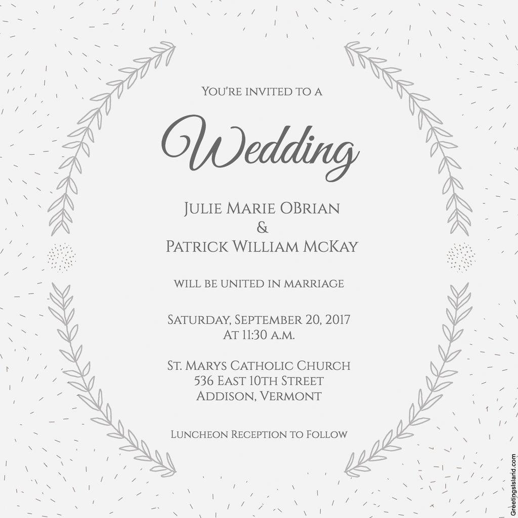 Free Printable Wedding Invitations   Popsugar Smart Living In - Free Printable Wedding Cards