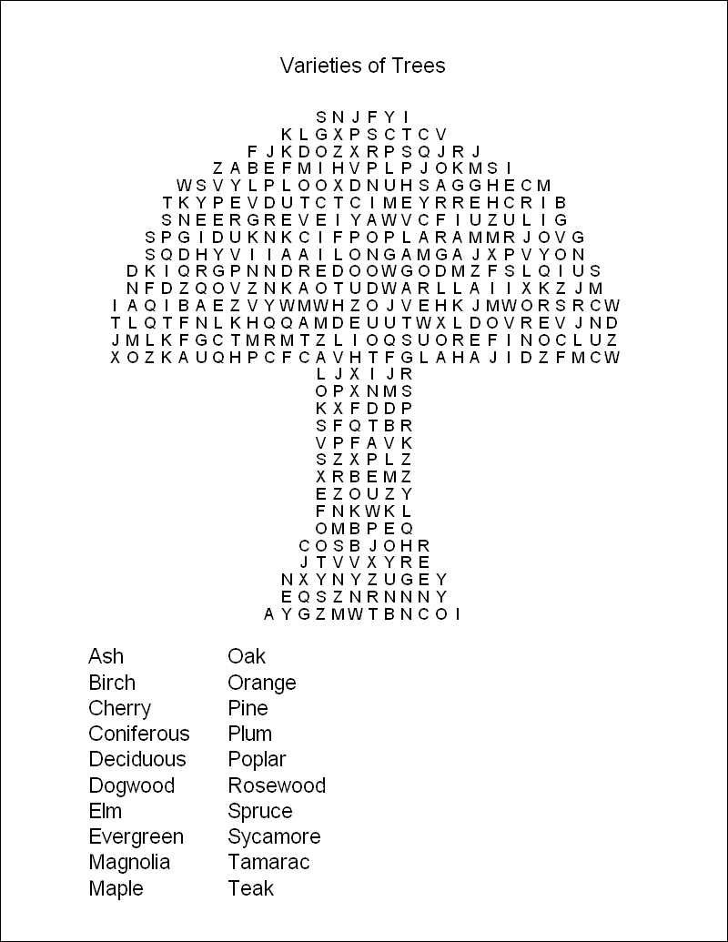 Free Printable Word Search Puzzles | Word Puzzles | Projects To Try - Free Printable Word Puzzles