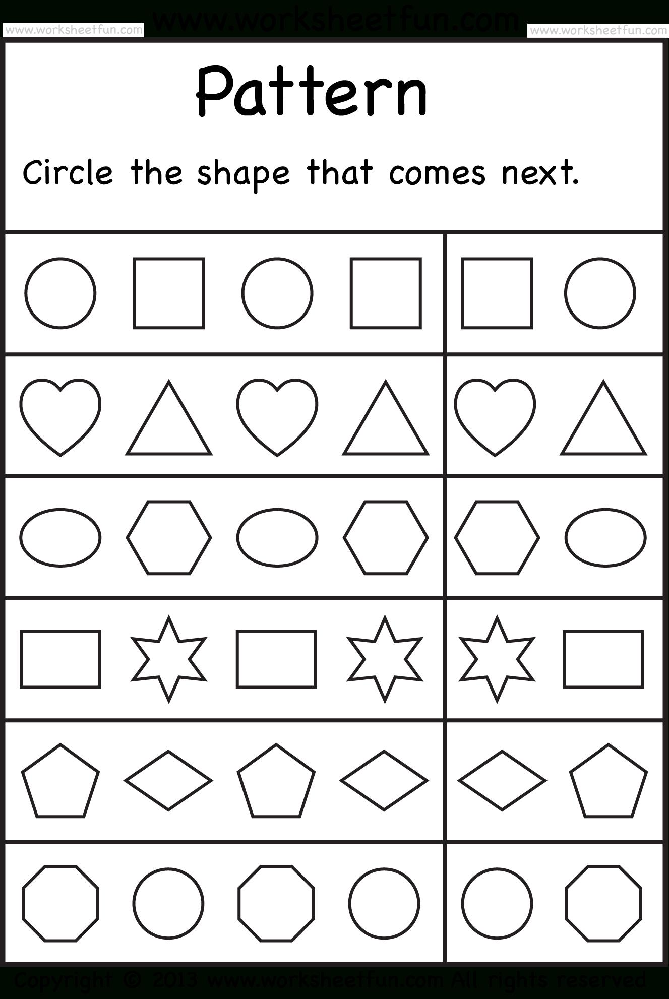 Free Printable Worksheets – Worksheetfun / Free Printable - Free Printable Learning Pages For Toddlers