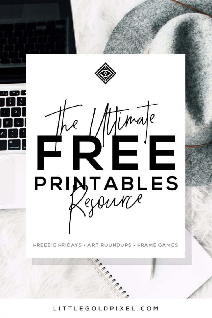 Free Printable Artwork To Frame