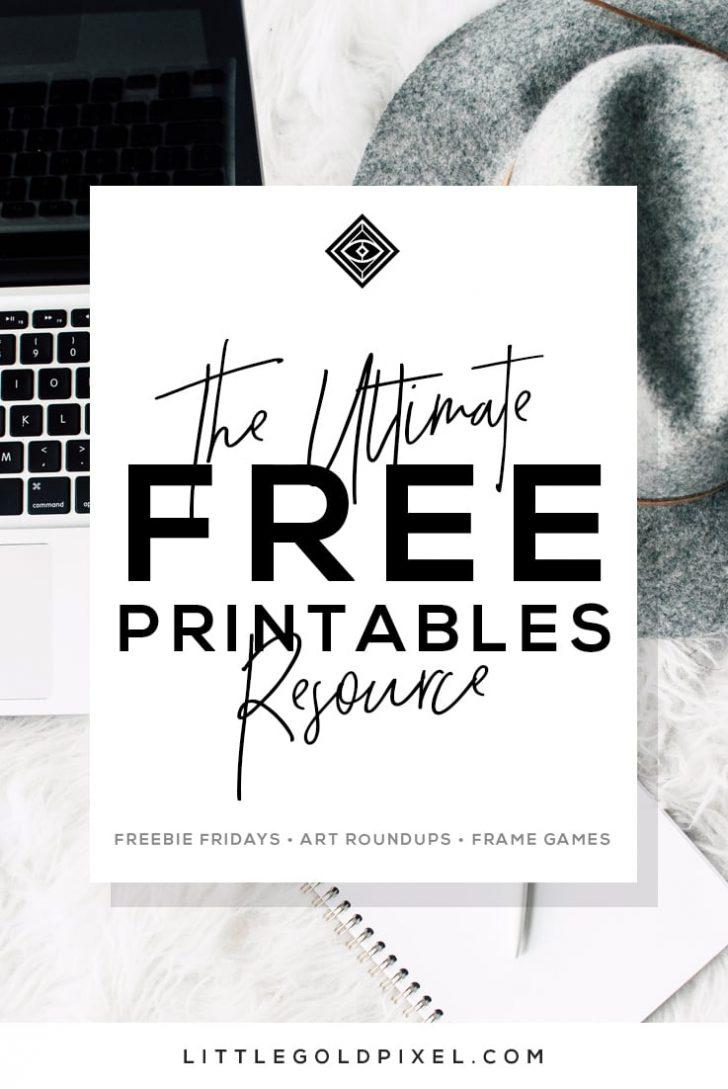 Free Printable Artwork To Frame