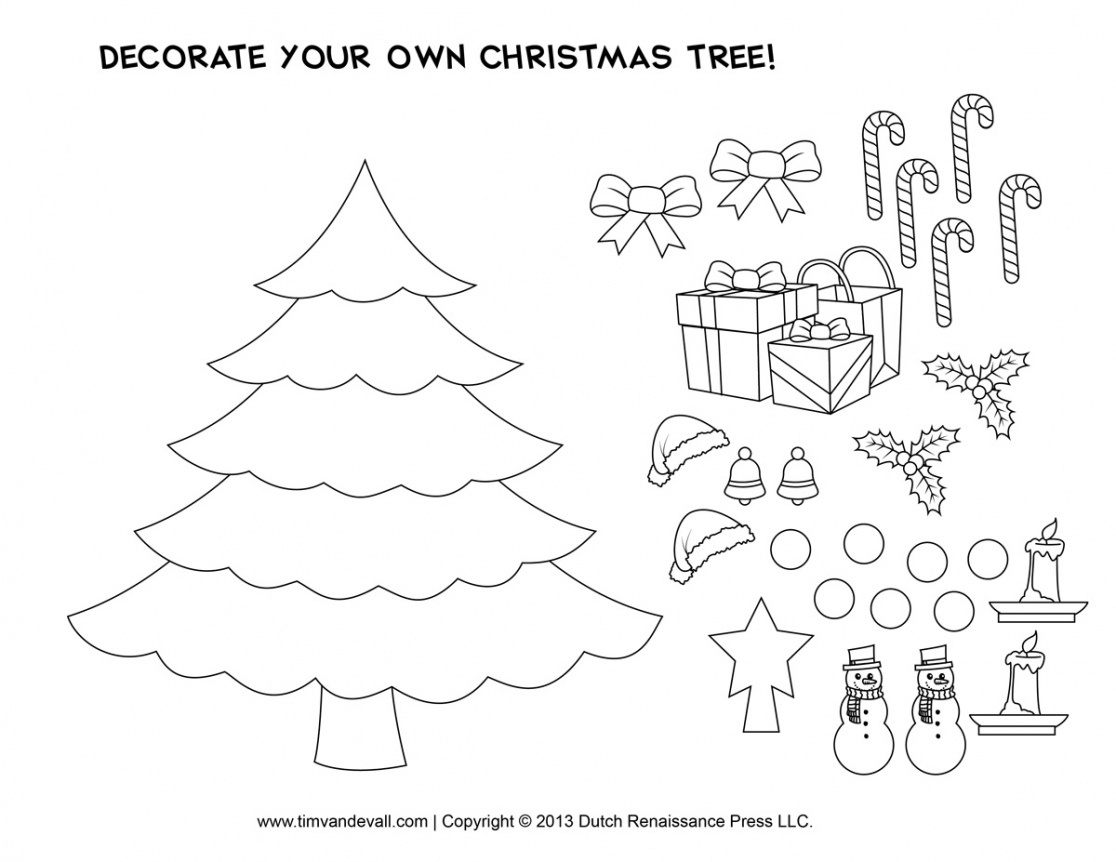 Free Printables For Christmas Crafts – Festival Collections - Free Printable Christmas Craft Templates