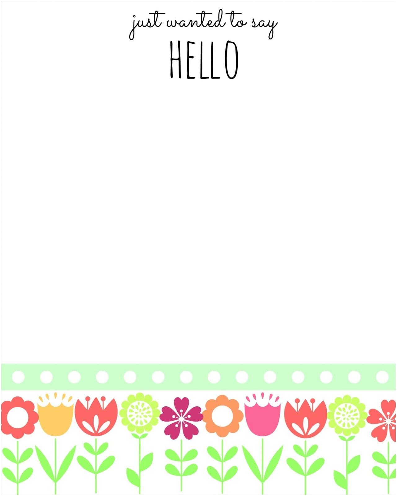 Free Printables For Spring And Some Stationary Too! - Mom 4 Real - Free Printable Spring Stationery