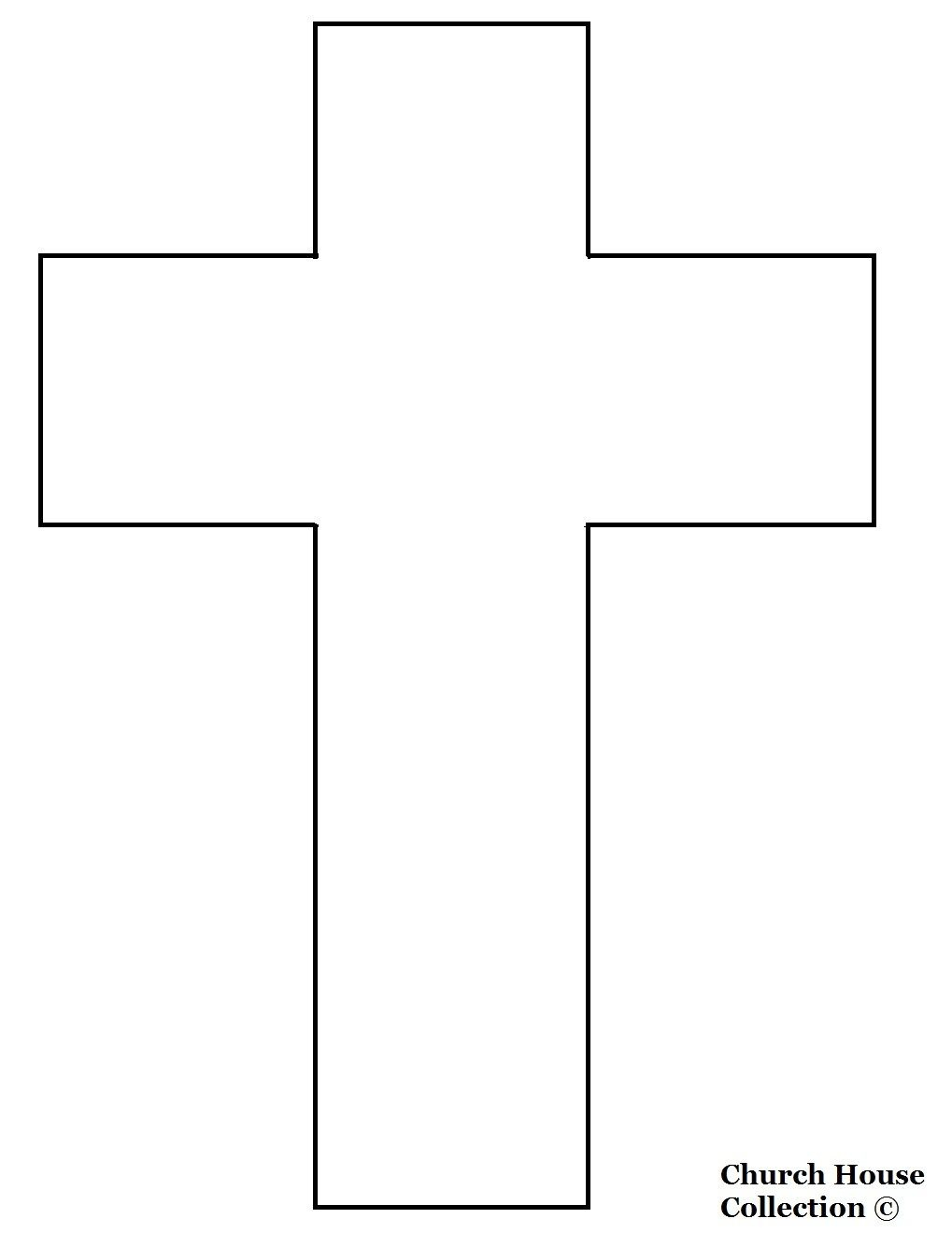 Free Printables Templates | Jesus Died On The Cross Cutout Craft - Free Printable Cross Patterns