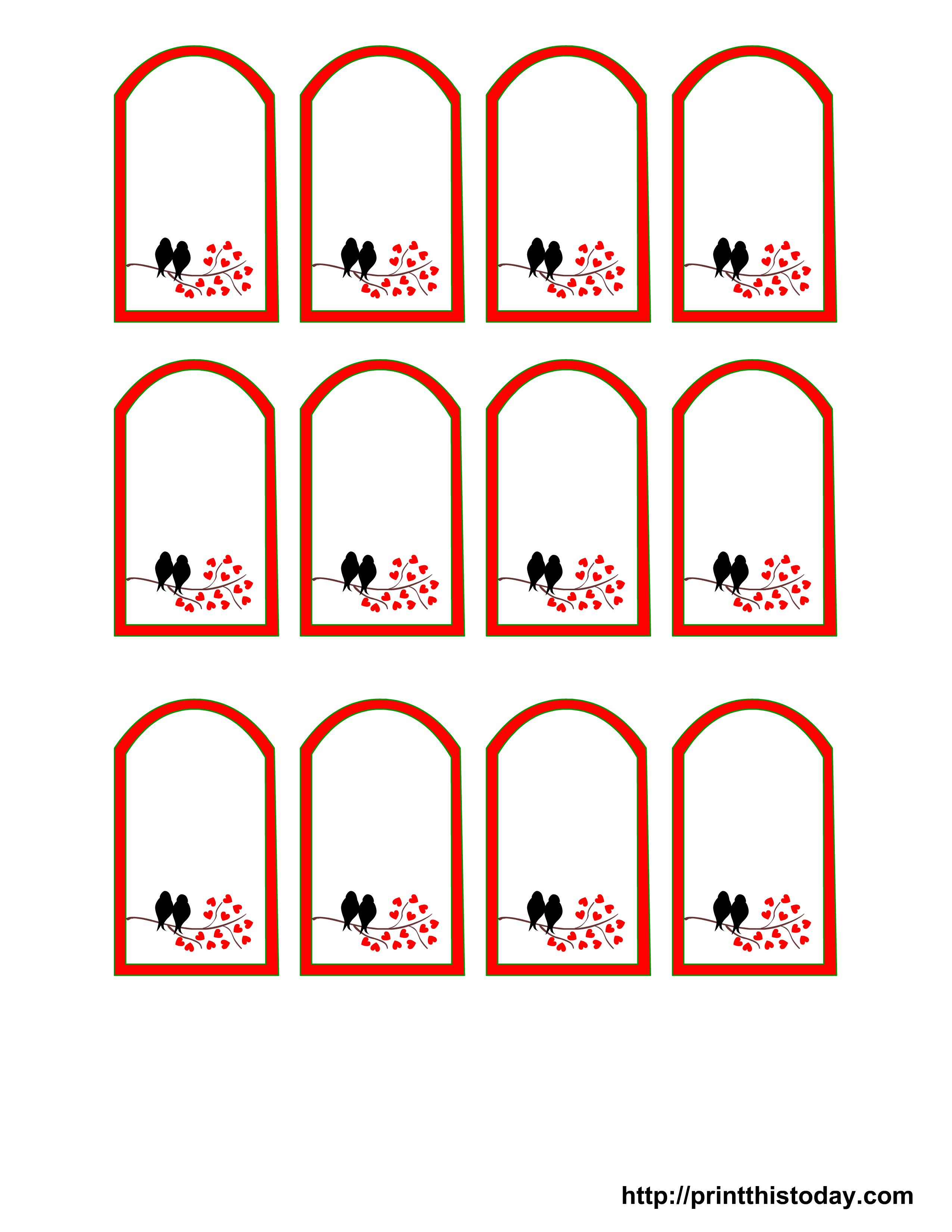 Free Printables Wedding | Free Printable Wedding Favor Tags | Print - Free Printable Wedding Favor Tags