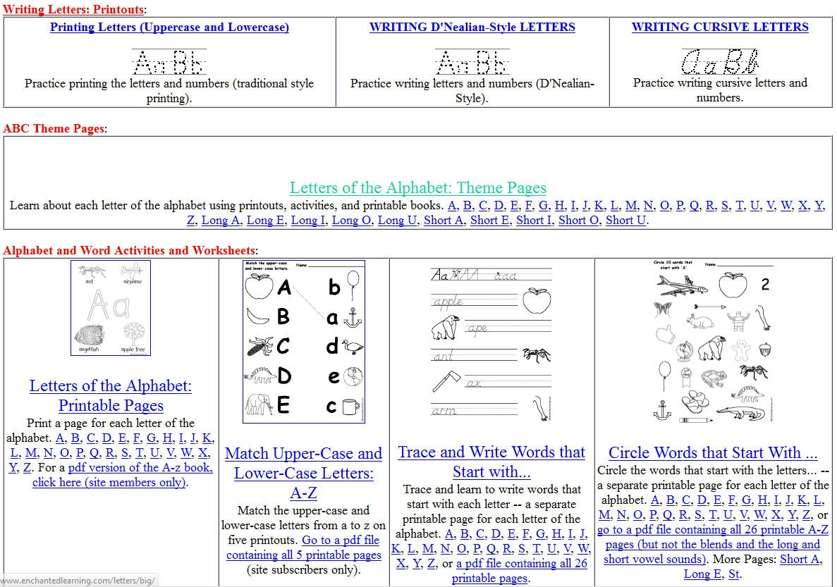 Free Printing And Cursive Handwriting Worksheets - Free Printable Handwriting Sheets For Kindergarten
