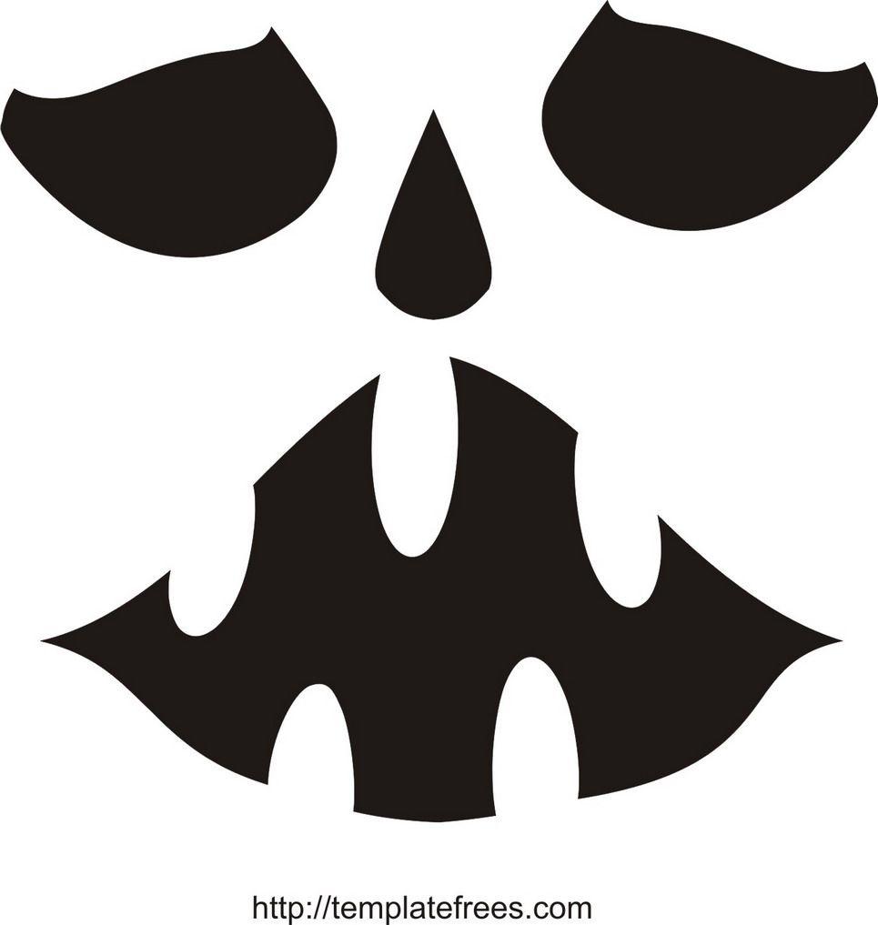 Free Pumpkin Face Stencils   Home Design   Halloween   Pumpkin - Free Printable Pumpkin Faces