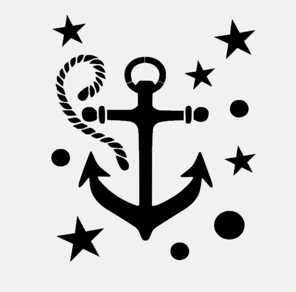 Free Sailboat Stencil, Download Free Clip Art, Free Clip Art On - Free Printable Anchor Template