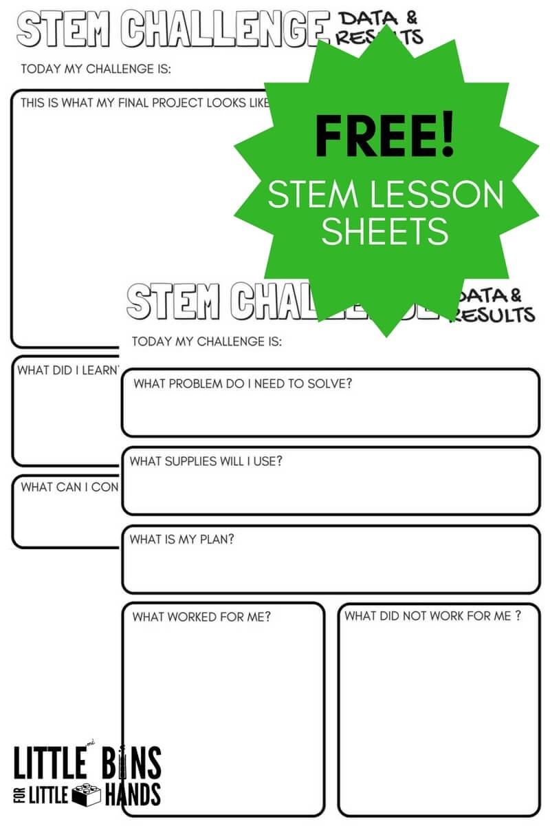 Free Science Worksheets For Kids | Little Bins For Little Hands - Free Printable Science Worksheets