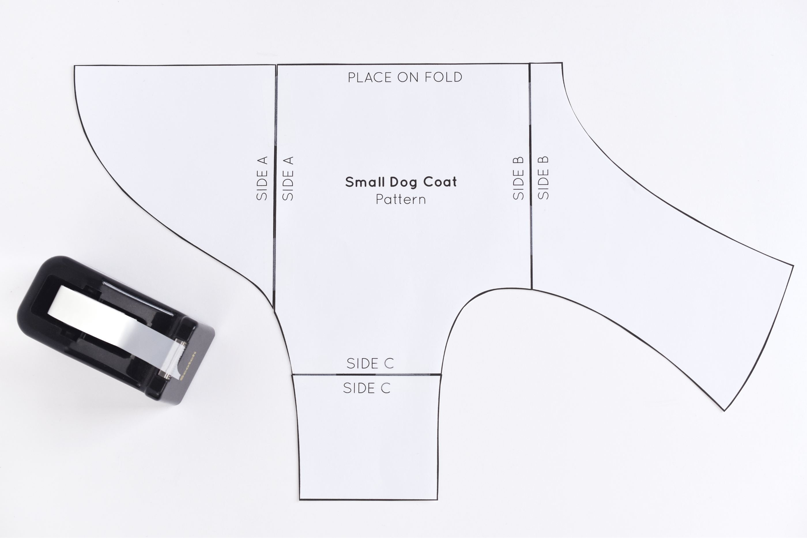 Free Sewing Pattern For A Warm, Weatherproof Dog Coat - Free Printable Dachshund Sewing Pattern