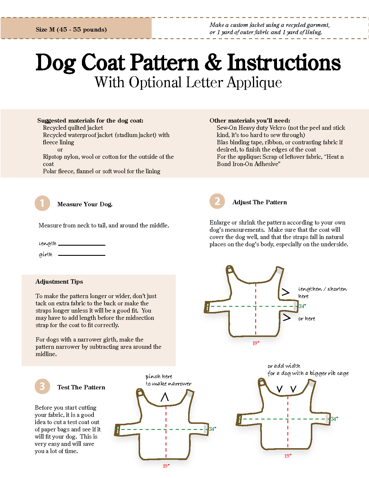 Free Sewing Patterns For Dog Clothes - New Zealand Of Gold Discovery - Dog Sewing Patterns Free Printable
