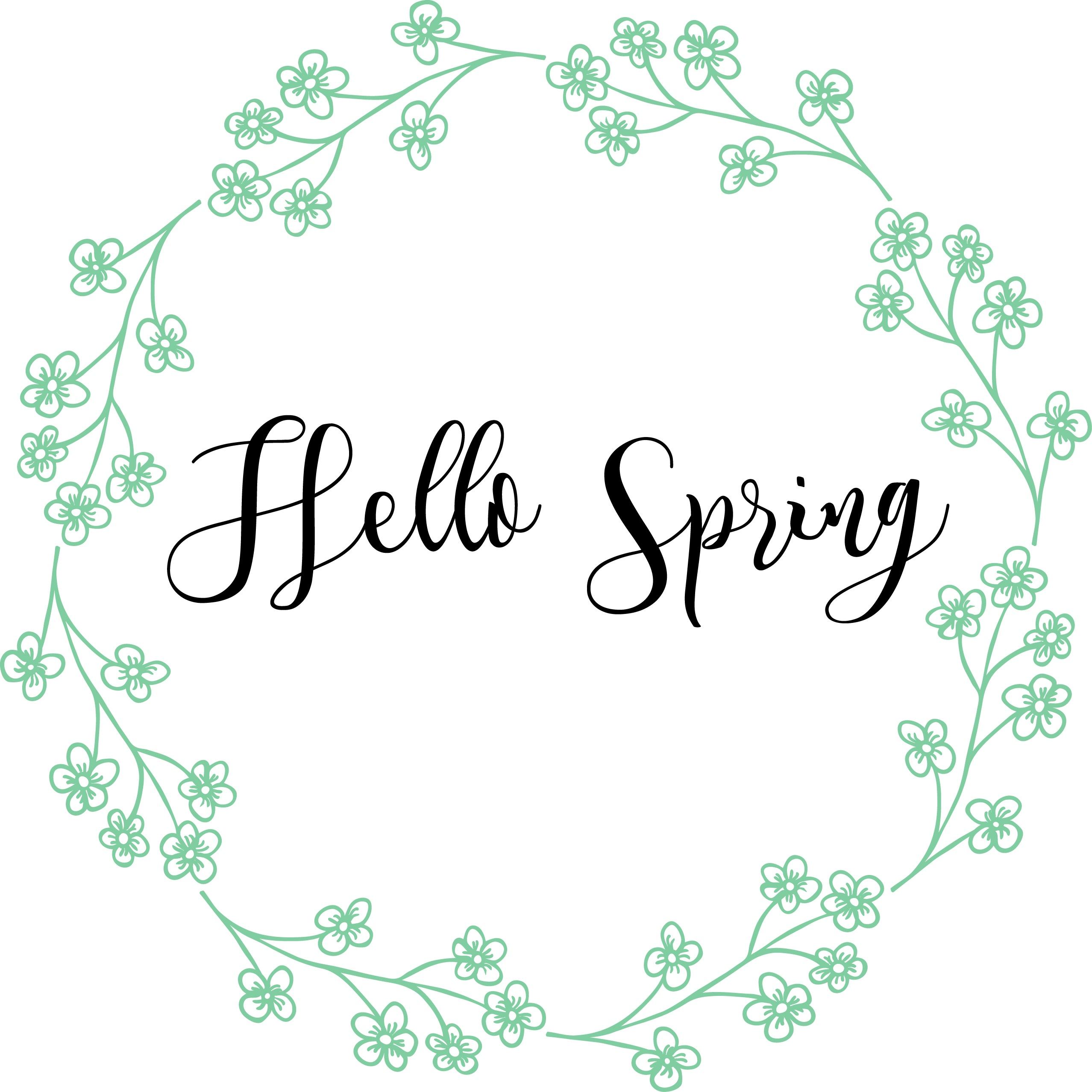 Free Spring Printables | Spring Decor | Nufun Activities - Free Printable Spring Decorations