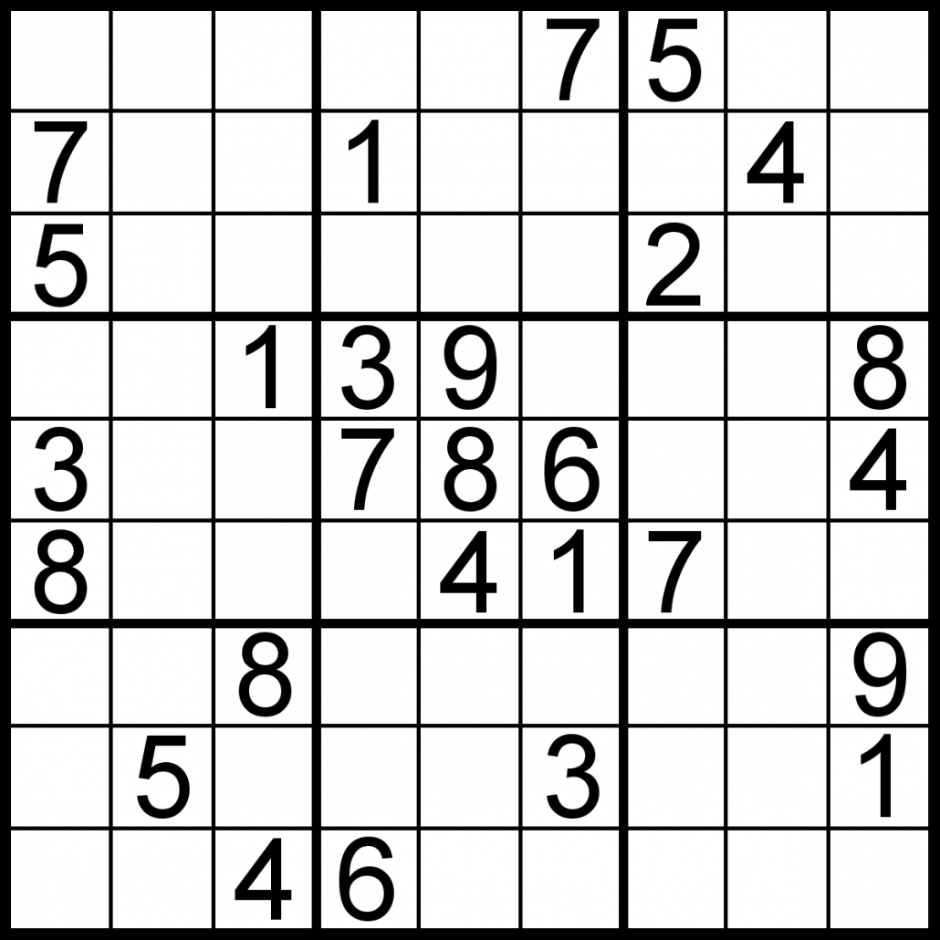 Free Sudoku For Your Local Publications! – Sudoku Of The Day - Download Printable Sudoku Puzzles Free