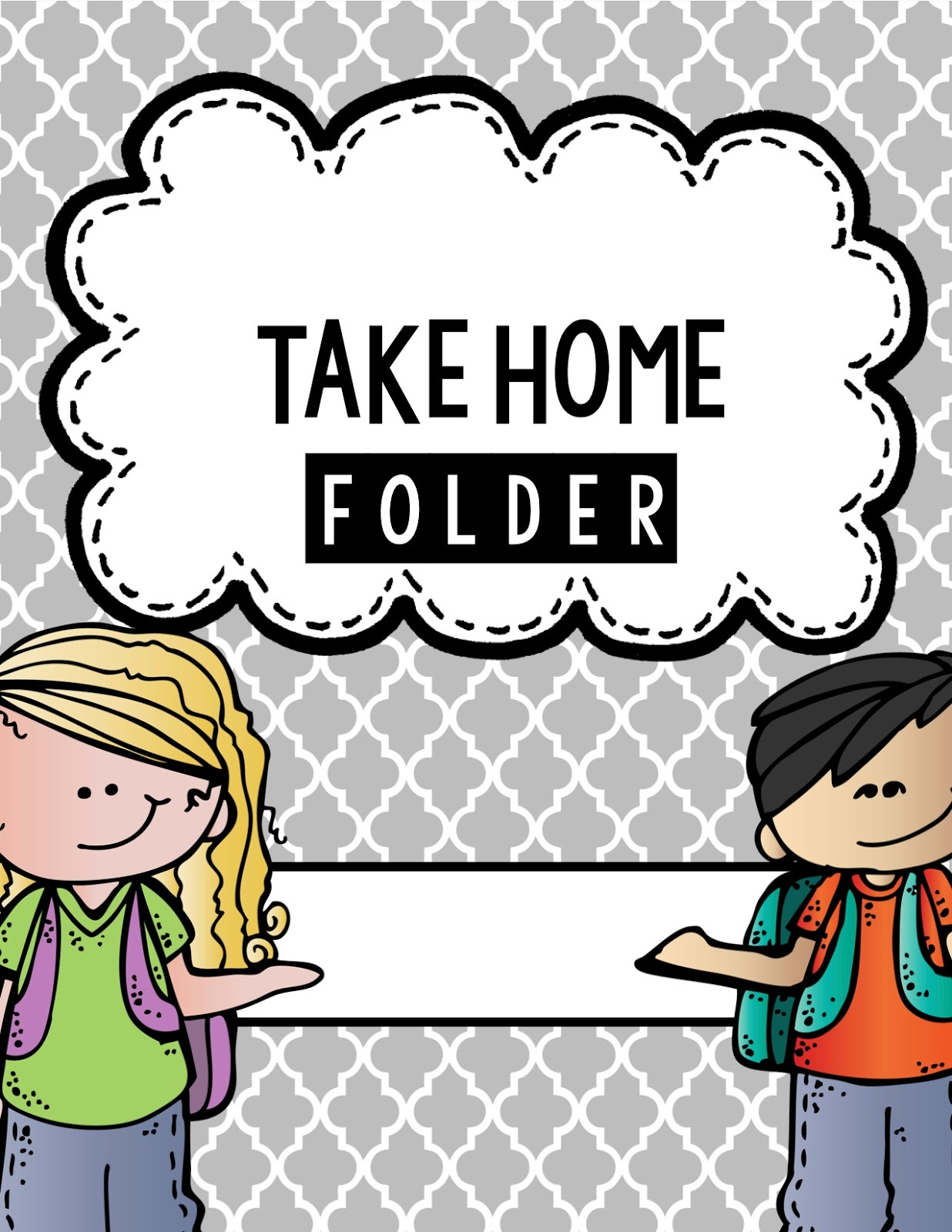 Free Take Home Cliparts, Download Free Clip Art, Free Clip Art On - Free Printable Take Home Folder Labels