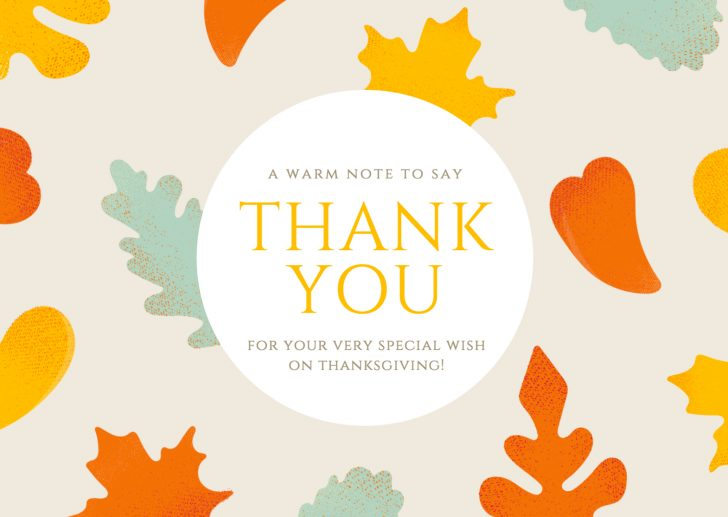 Free Personalized Thank You Cards Printable