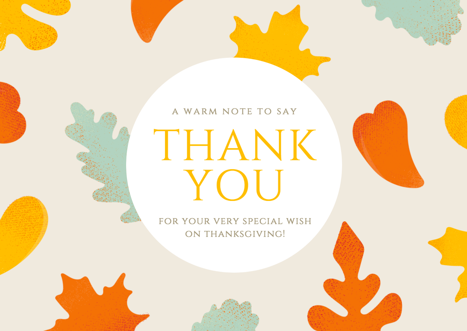 Free Thank You Card Maker - Canva - Free Personalized Thank You Cards Printable