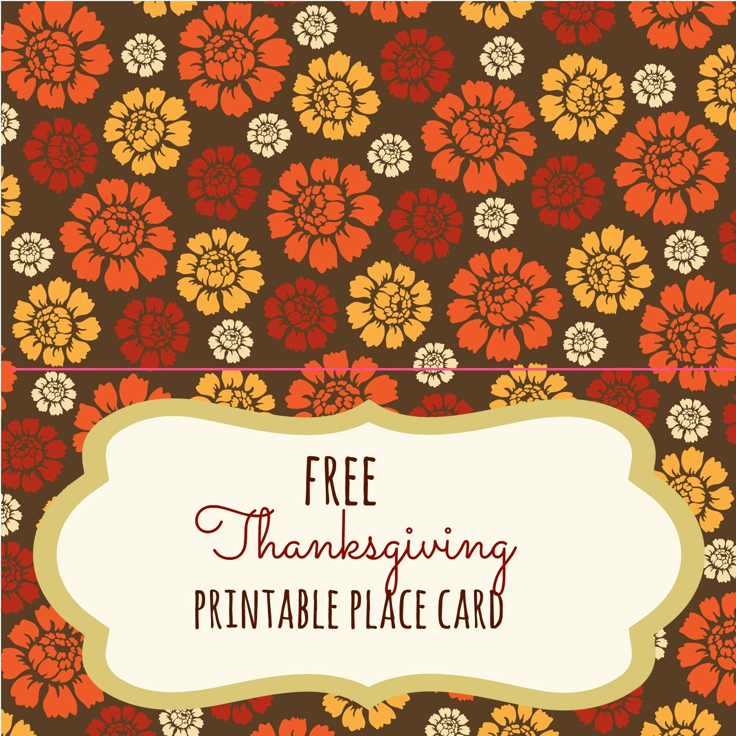 Free Thanksgiving Printables - Frugal Fanatic - Free Printable Thanksgiving Place Cards To Color