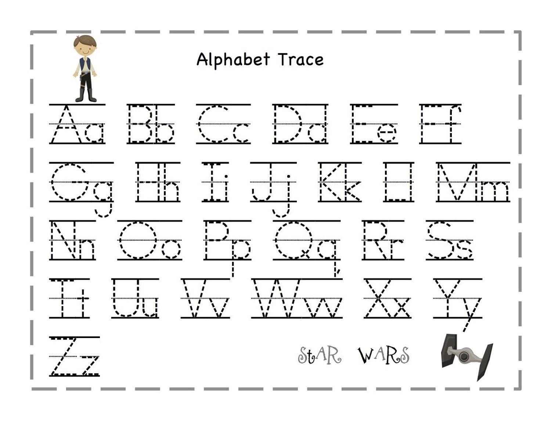 Free Traceable Alphabet For Kids   Prints   Letter Tracing - Free Printable Tracing Letters And Numbers Worksheets