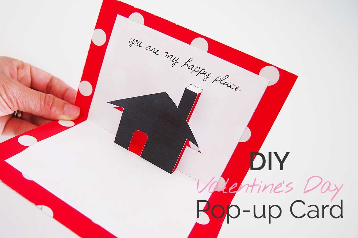 Free Valentines Day Printable Card: Cute Pop-Up! - Sew In Love - Free Valentine Printable Cards For Husband