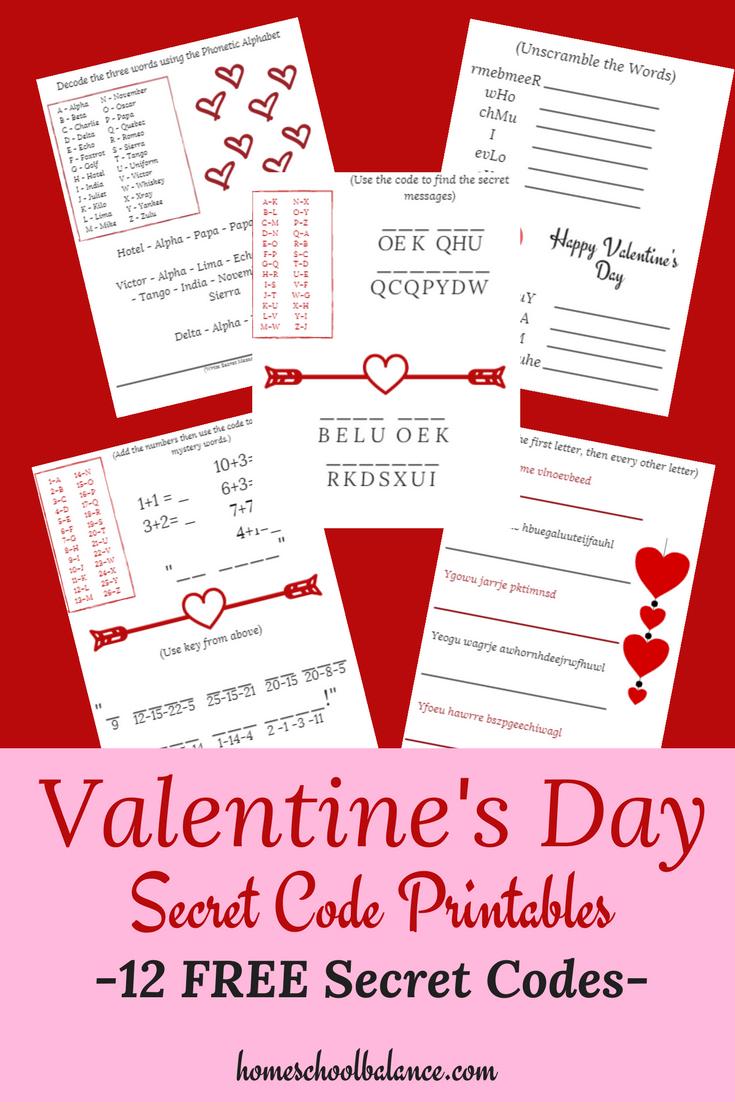 Free Valentine's Day Secret Code Messages | Best Of Secret Society - Free Printable Valentine Hidden Pictures