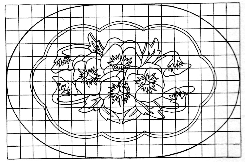 Free Vintage Hooked Rug Pattern Archives - Vintage Crafts And More - Free Printable Latch Hook Patterns