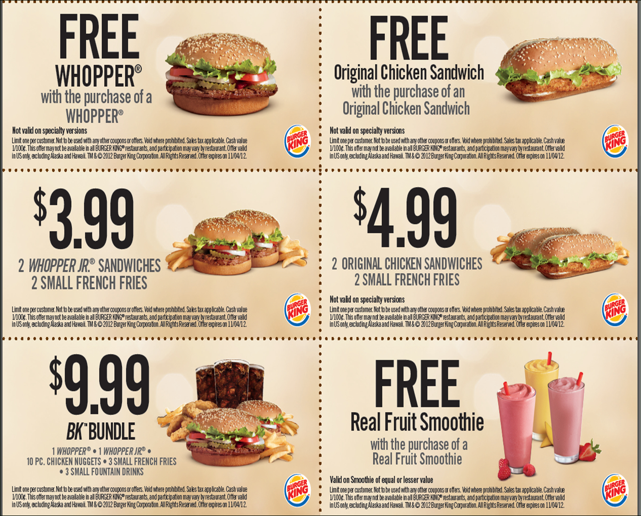 Freis-Burger-King-Printable-Coupons-May - Burger King Free Coupons Printable