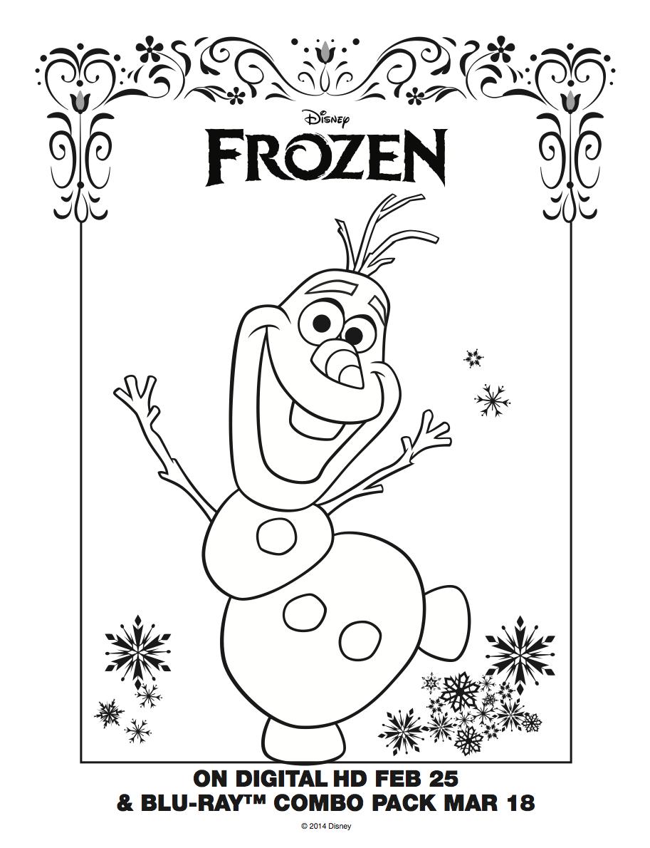 Frozen: Imágenes Para Colorear, Para Imprimir Gratis. | Coloring - Free Printable Coloring Pages Disney Frozen