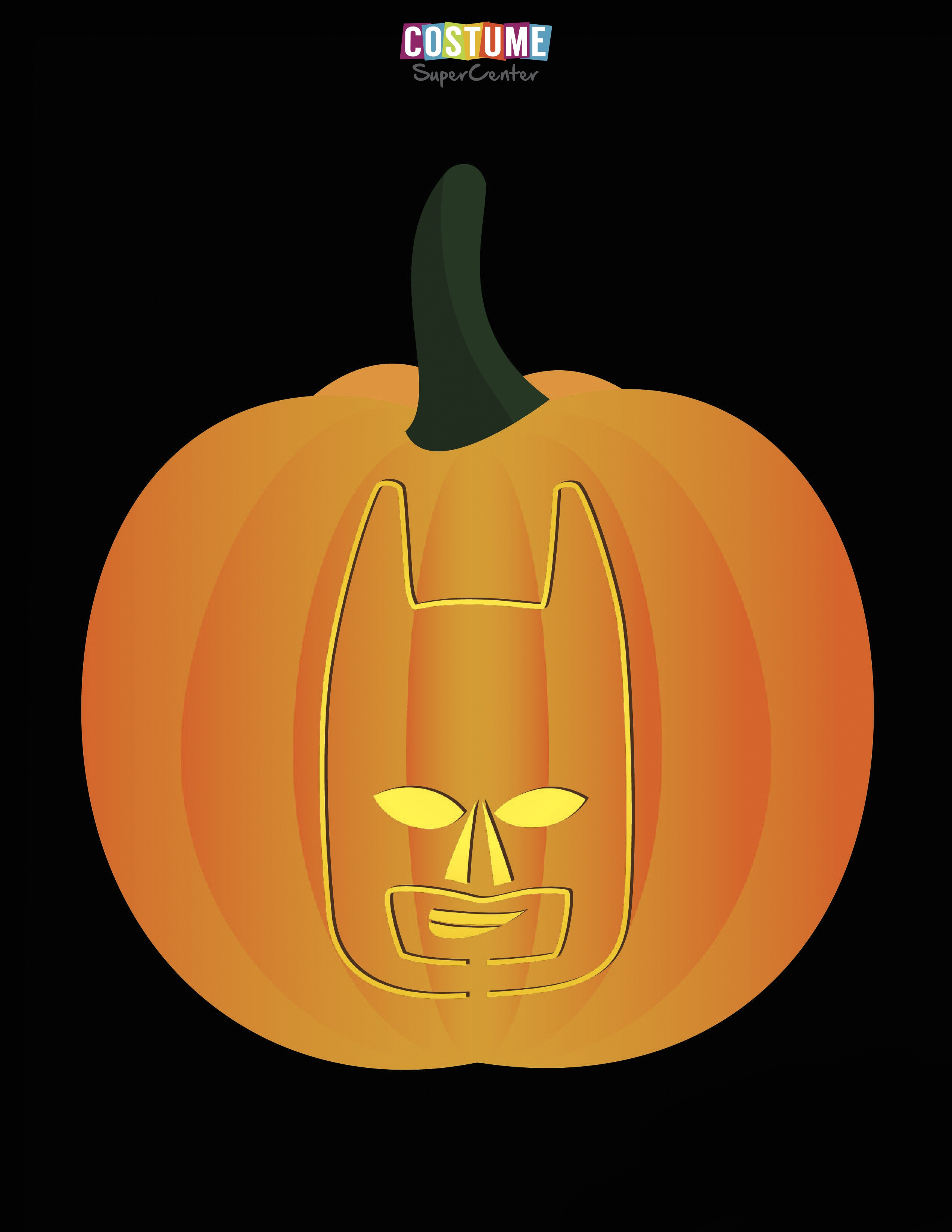 Fun And Free Printable Themed Pumpkin Carving Stencils — All For The - Free Printable Pumpkin Faces