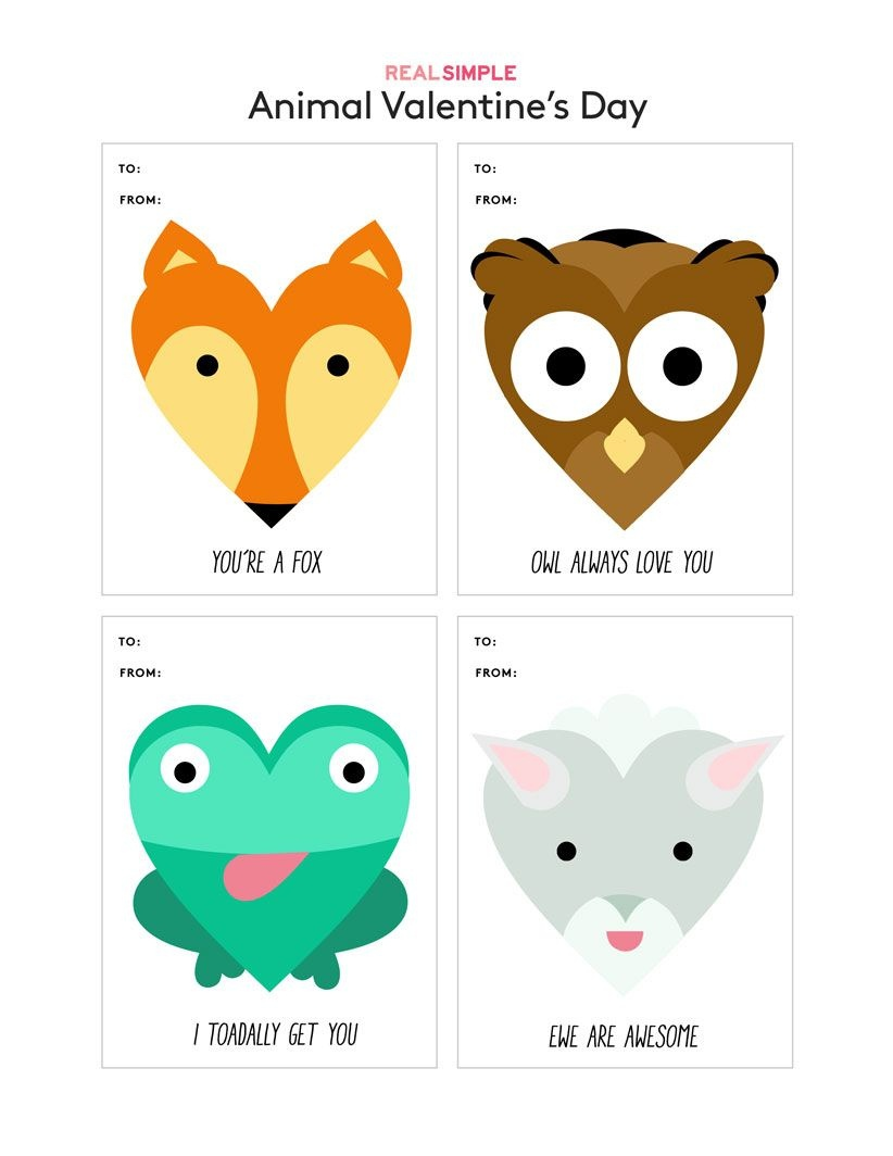 Fun (And Free) Printable Valentine's Day Cards To Download - Free Printable Valentines Day Cards For Kids