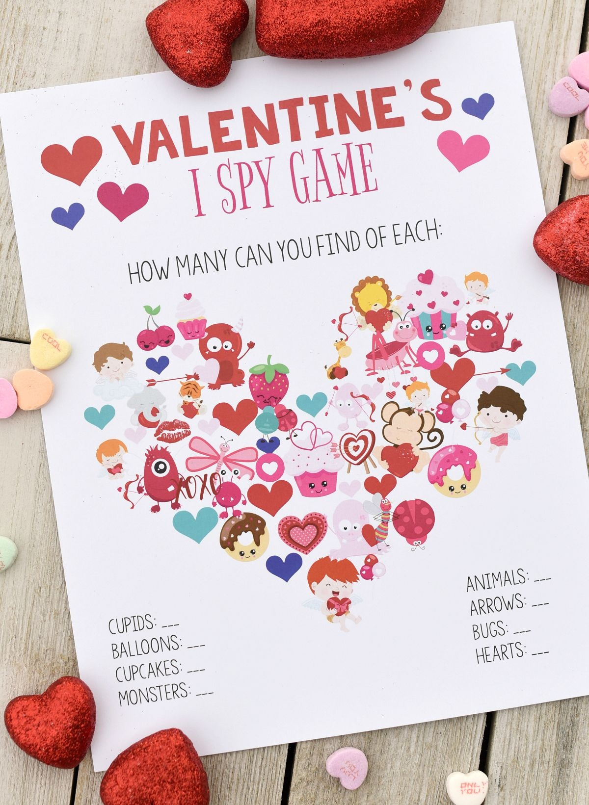 Fun Valentine Games To Print & Play | Valentine's Day | Valentines - Free Printable Valentine Games For Adults