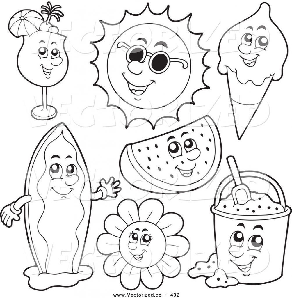 Fundamentals Summer Coloring Pages Free Printable Download Xsibe 10 - Summer Coloring Sheets Free Printable