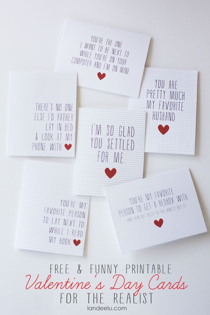 Funny Printable Valentine's Day Cards | Valentines Day | Printable - Free Printable Valentine Cards For Husband