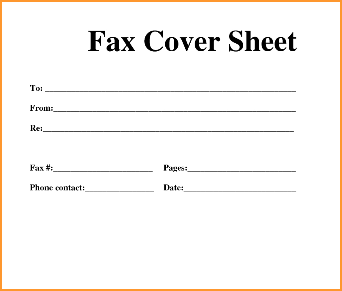 Generic Fax Cover Letter - Tutlin.psstech.co - Free Printable Cover Letter For Fax