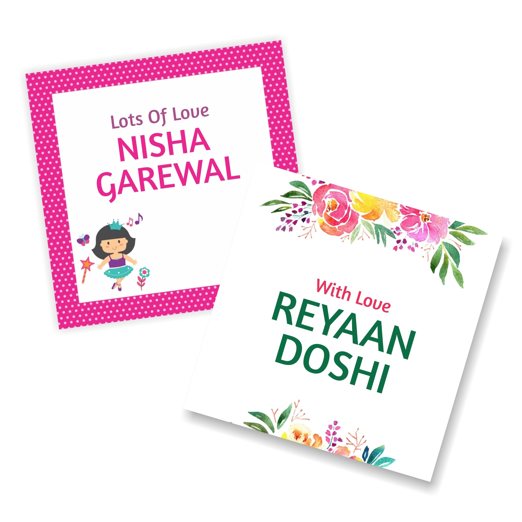 Gift Tags Online India - Personalized Gift Tags Printing | Reliable - Free Online Gift Tags Printable