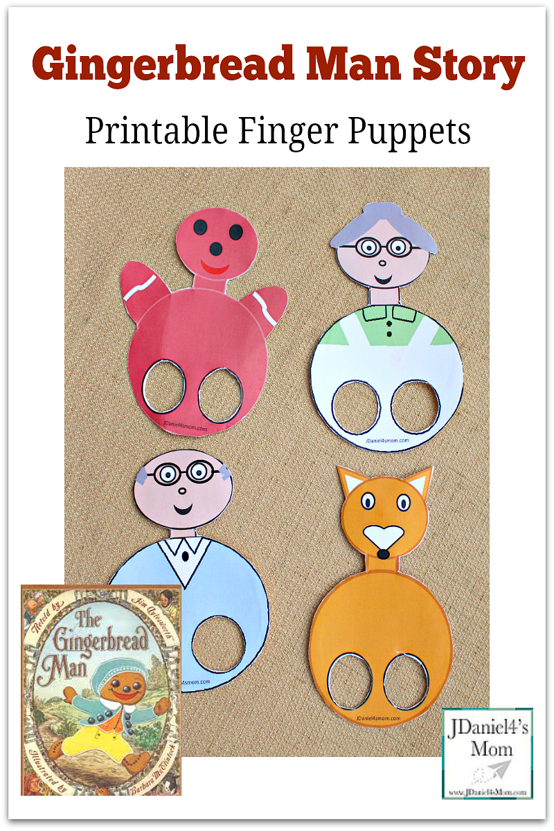 Gingerbread-Man-Finger-Puppets-Pinterest   New Teachers - Free Printable Version Of The Gingerbread Man Story