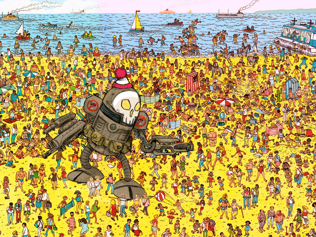 """Going To Print Out A Few Of These """"where's Waldo"""" Pictures And Add - Where Waldo Printable Free"""