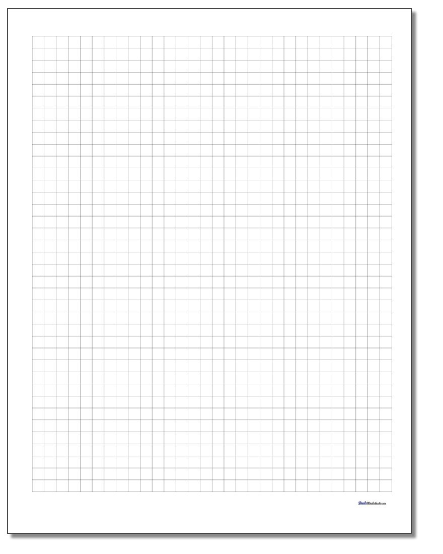Graph Paper - Free Printable Graph Paper 1 4 Inch