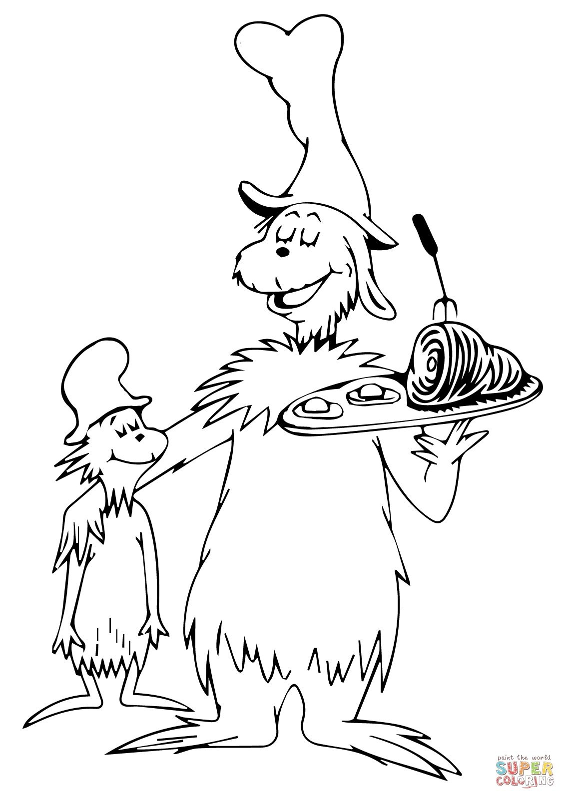 Green Eggs And Ham Coloring Page | Young Womens | Dr Seuss Coloring - Free Printable Dr Seuss Coloring Pages