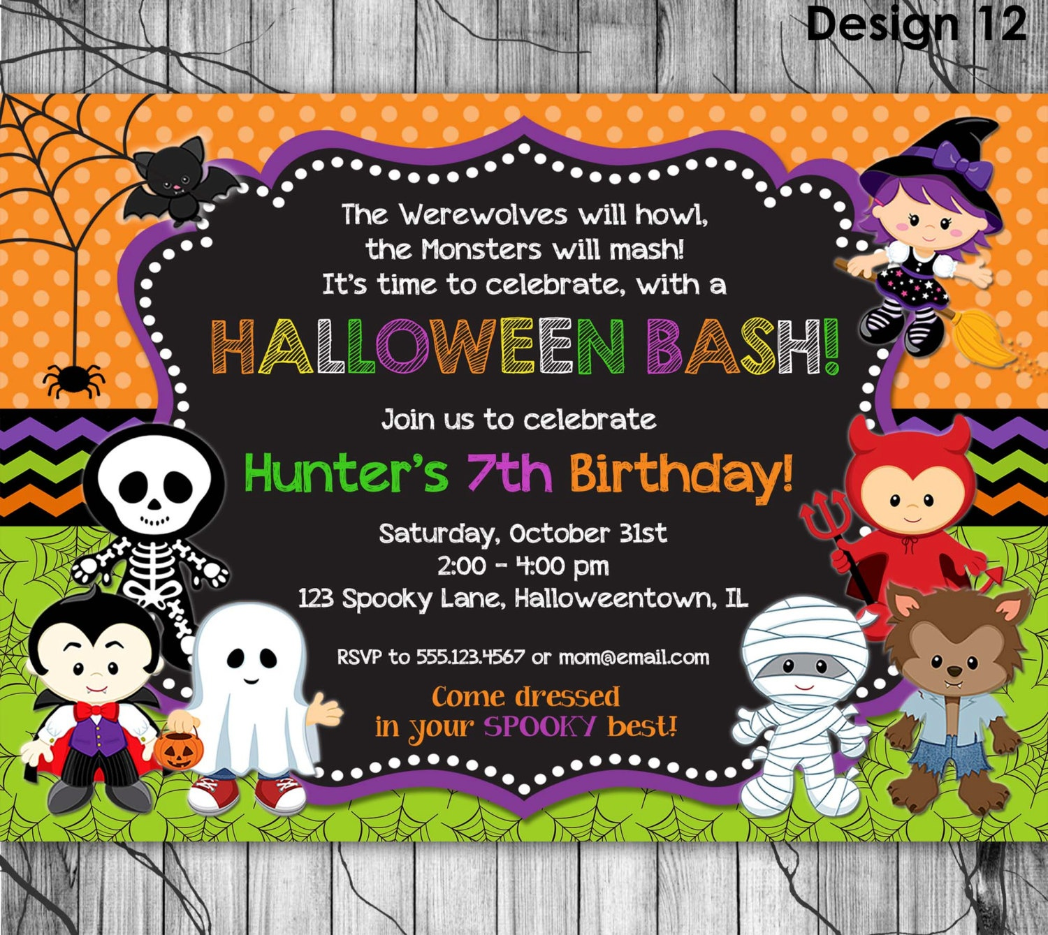 Halloween ~ Best Invites For Your Guests. - Free Online Halloween Invitations Printable