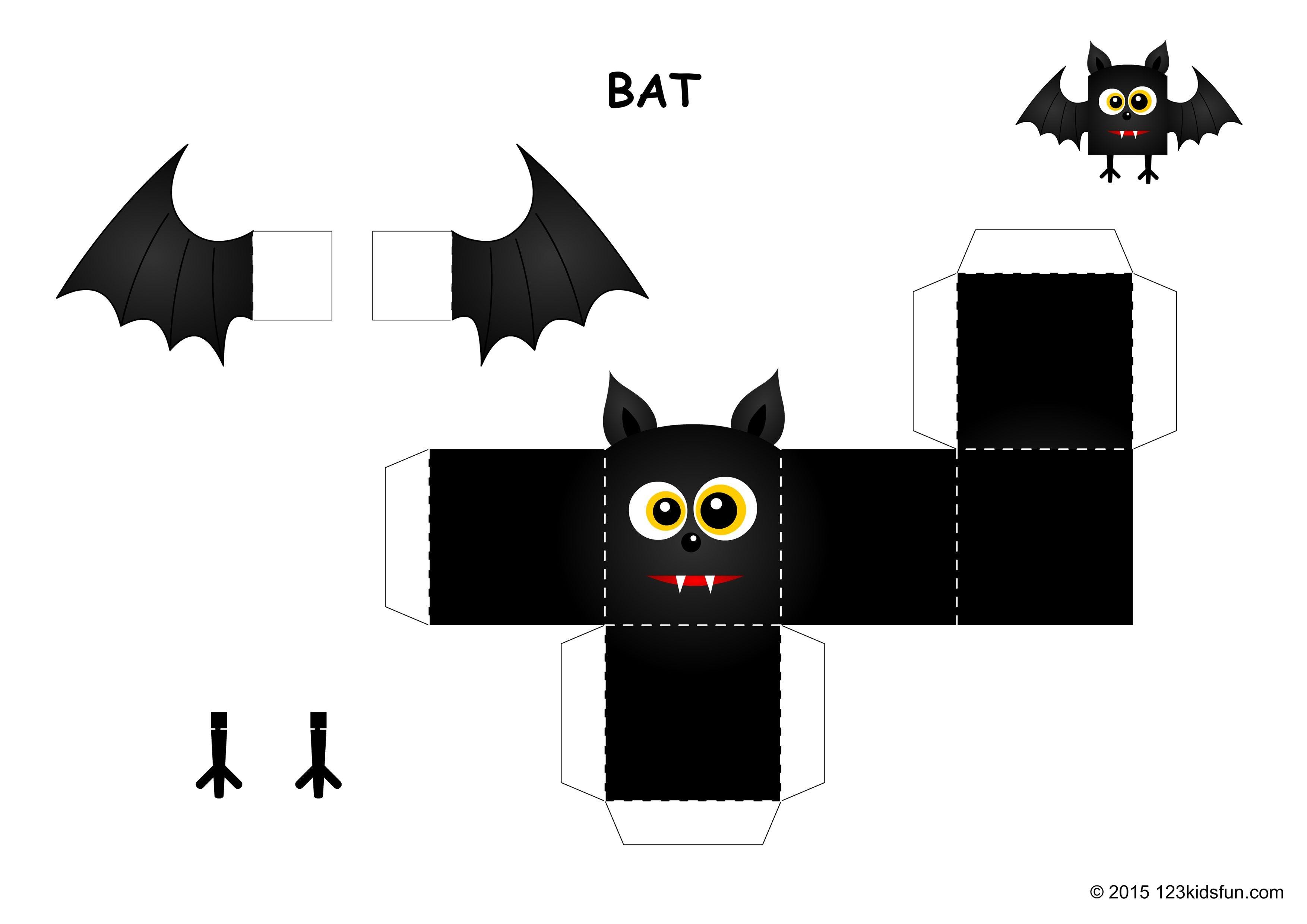 Halloween | Free Halloween Printables And Halloween Decorations - Free Printable Halloween Paper Crafts