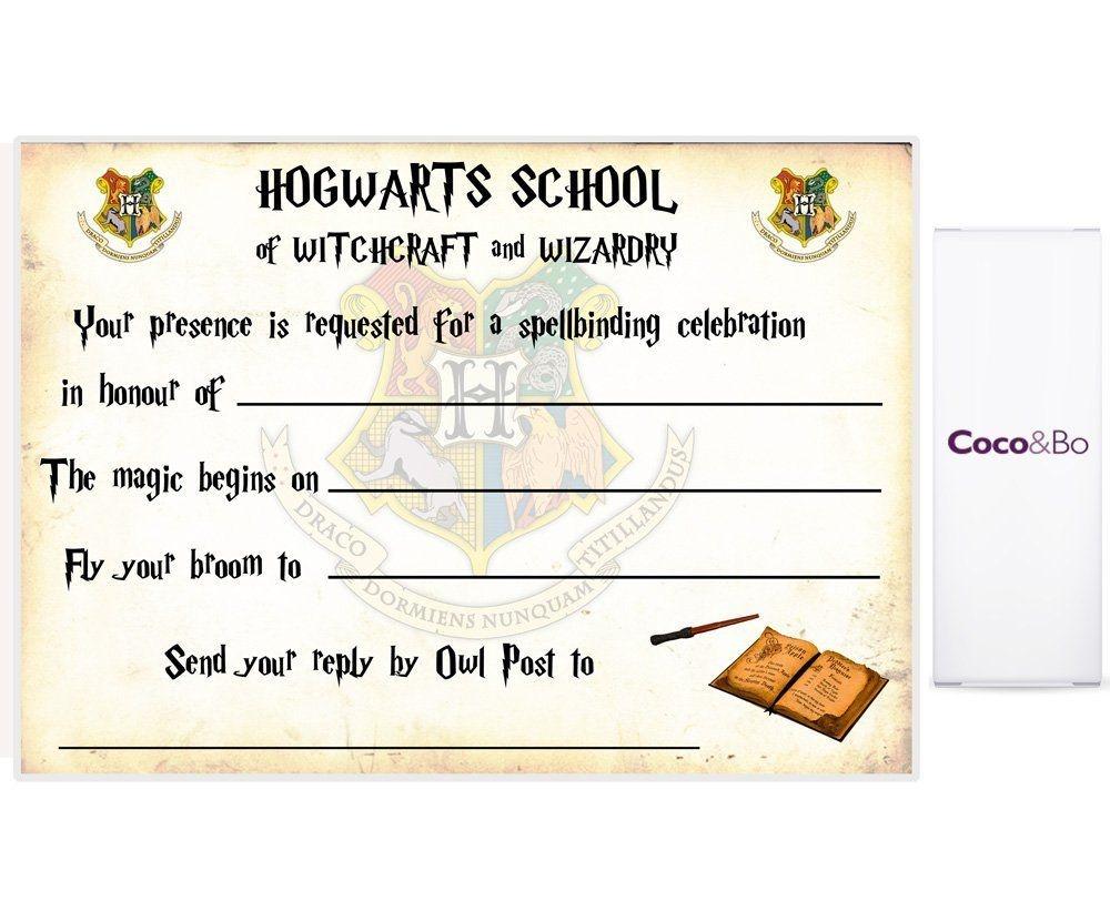 Harry Potter Ticket Invitation Template – Bagvania Free Printable - Harry Potter Birthday Invitations Free Printable