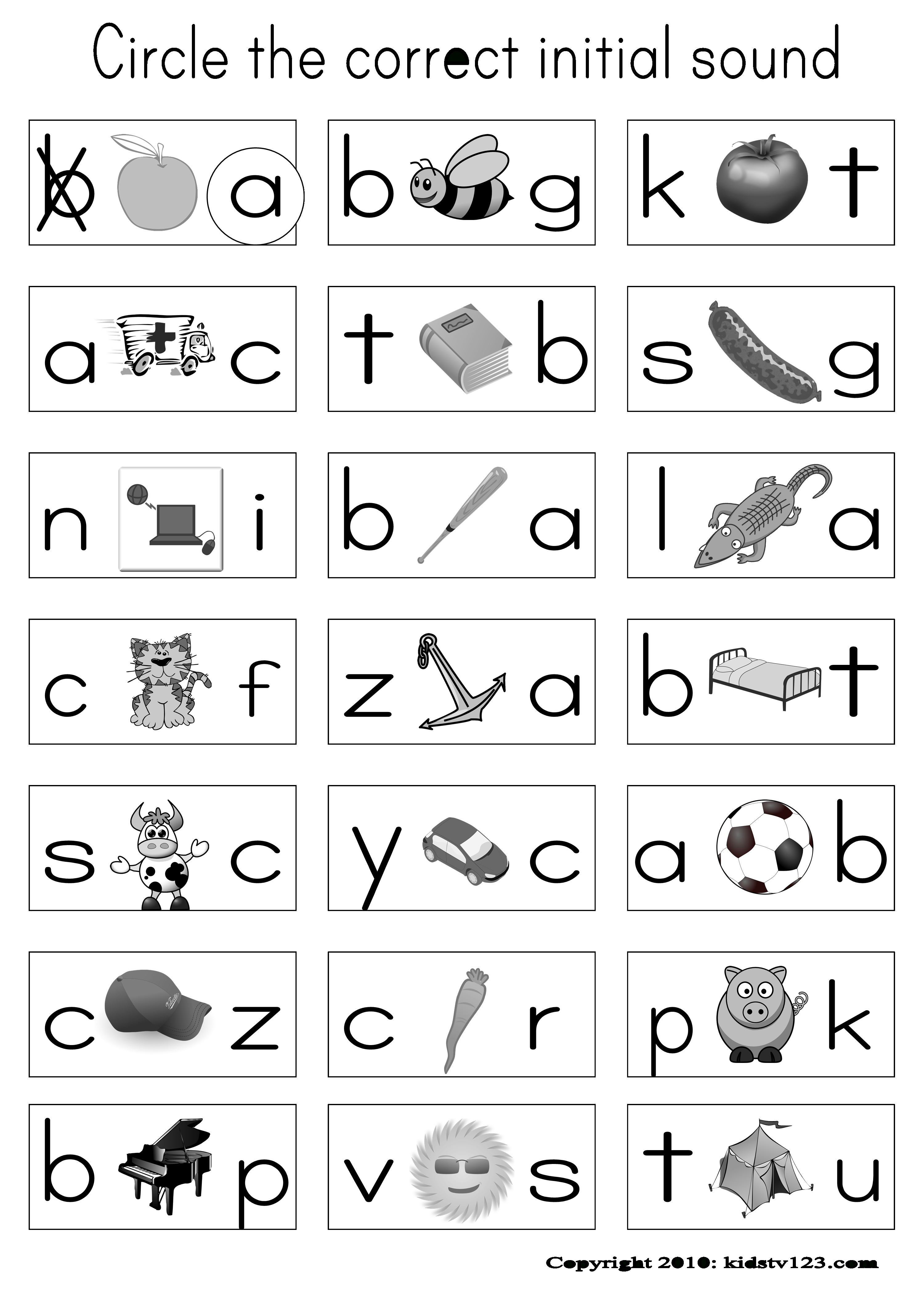 Have Pictures On Their Sheet And When I Say The Word In Spanish - Hooked On Phonics Free Printable Worksheets