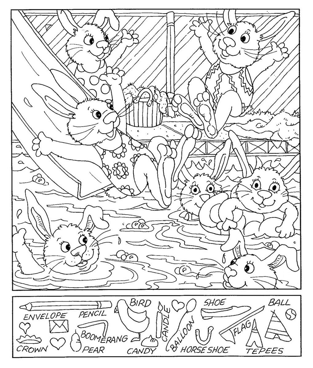 Hidden Picture Worksheet Free Worksheets Library   Download And - Free Printable Hidden Pictures For Kids