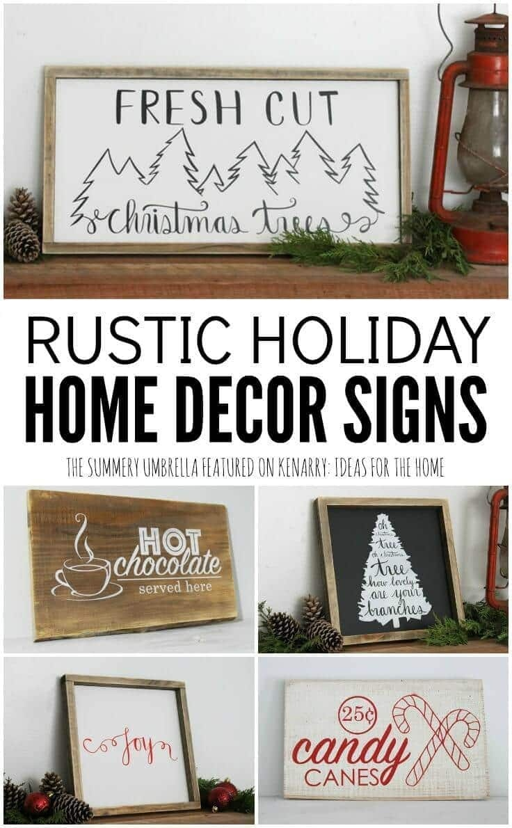 Holiday Home Decor Signs And Free Printable Gift - Free Printable Holiday Signs Closed