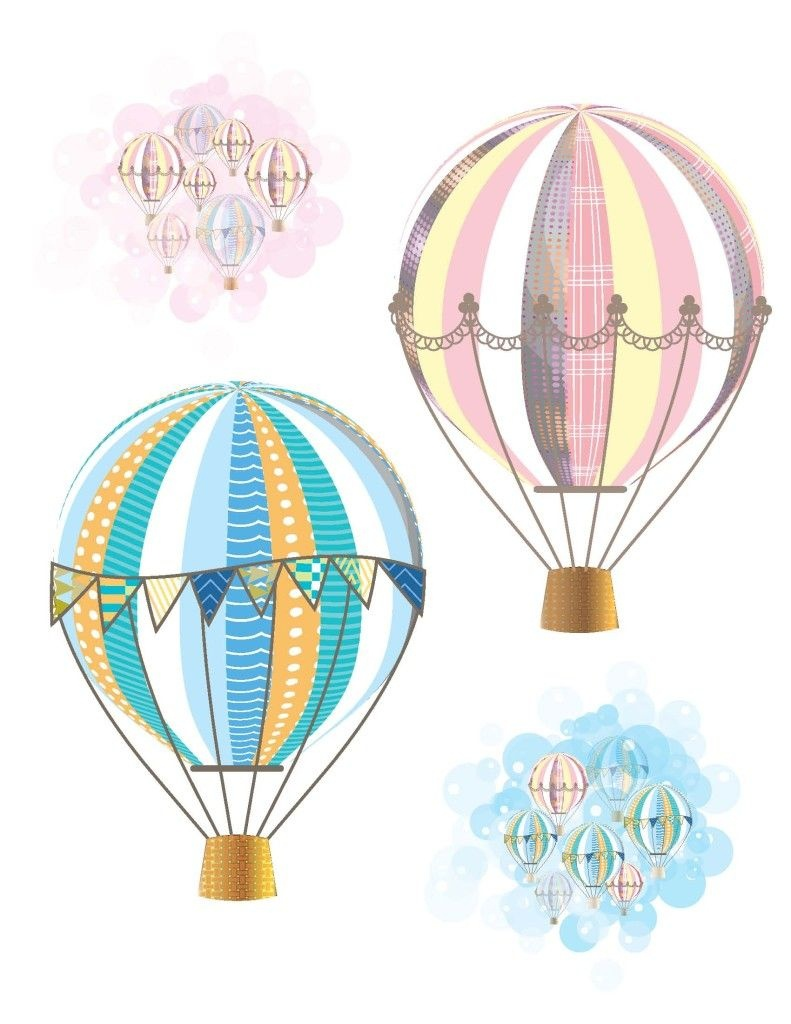 Hot Air Balloon Party Free Printables | Baby | Baby Shower Balloons - Free Printable Pictures Of Balloons