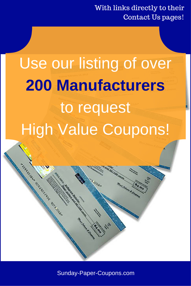 How And Where To Get Free Couponsmail No Surveys Mailed To Your - Free High Value Printable Coupons